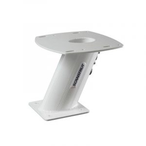 SCANSTRUT 11.02 x 11.42 x 10 in Aluminum PowerTower for 2 kW/4 kW Raymarine, Garmin and Navico BR24/3G/4G Radomes, Open Array And Small Satcom/TV Antenna APT-250-01