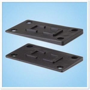 SHAKESPEARE Rubber Heavy-Duty Shim Kit for 4186 and 4187 Series Ratchet Type Deck Mounts|414