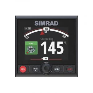 SIMRAD AP44 Autopilot Controller with N2K-T-RD Network T-Connector, N2KEXT-2RD 2 ft Network Extension Cable|000-13289-001