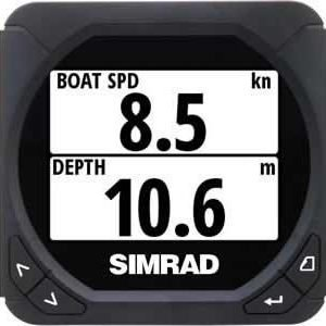 SIMRAD 000-10955-001,  IS40 Speed / Depth Pack with DST800 Depth/Speed | 000-10955-001