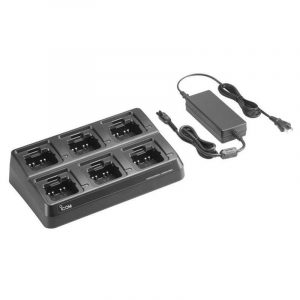 ICOM SIX GANG CHARGER FOR M85 | BC214-1