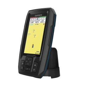GARMIN STRIKER Plus 4 Series 4.3 in QSVGA GPS Fishfinder with Traditional CHIRP Sonar and Dual-Beam Transducer|010-01870-00