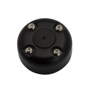"""SEAVIEW CG30SB Cable Gland with cover in Black Powder Coated S.S. for wire up to 27.5mm / 1.08"""" 