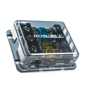 ROSWELL 1 In 4 Out Fused Fuse Distribution Block | C720-0542
