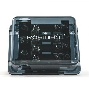 ROSWELL 1 In 4 Out Ground Fuse Distribution Block | C720-0543