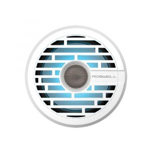 ROSWELL R1 6.5 in 160 W 60 Hz to 20 kHz Component-Style In-Boat Speaker, White | C920-1600
