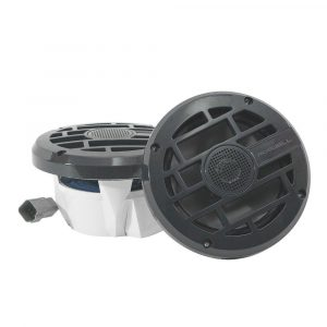 ROSWELL R 6.5 in 120 W 69 Hz to 20 kHz Component-Style In-Boat Speakers, Anthracite | C920-1902