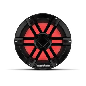 ROCKFORD FOSGATE 10 in 2 Ohm 1200 W Peak Color Optix DVC Marine Subwoofer, Black | M1D2-10B