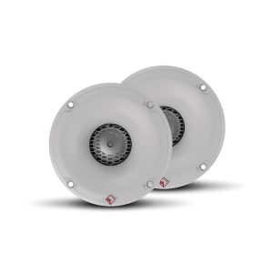 ROCKFORD FOSGATE 1 in 800 W Peak 4 Ohm Marine Add-On Tweeter Kit, White | M2-TS