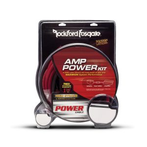ROCKFORD FOSGATE 10 AWG Power and Ground Amplifier Installation Kit | RFK10