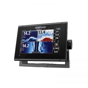 SIMRAD GO7 XSR Series 7 in TFT Optically Bonded Chartplotter Navigation Display with Med/High HDI Transducer and C-MAP DISCOVER|000-14326-002