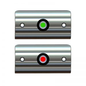TACO Rub Rail Mounted Navigation Lights – Port And Starboard Included | F38-6602-1