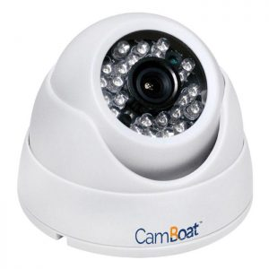 GLOMEX CamBoat 1 MP 1/4 in CMOS Wi-Fi HD IP Security Video Surveillance Camera|GLVS100