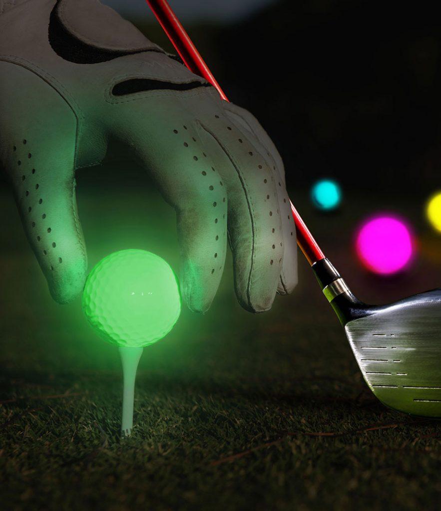 glowing-golf